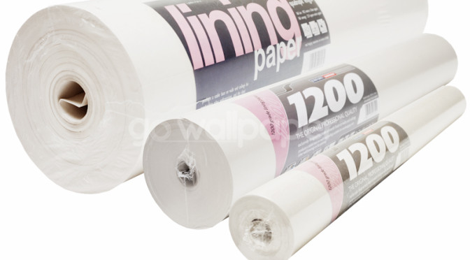The Many Advantages of Lining Paper