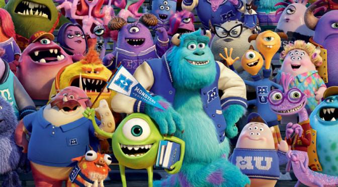 Walltastic Disney Monsters University Wallpaper Mural