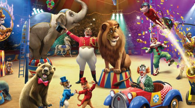 Walltastic Circus Wallpaper Mural