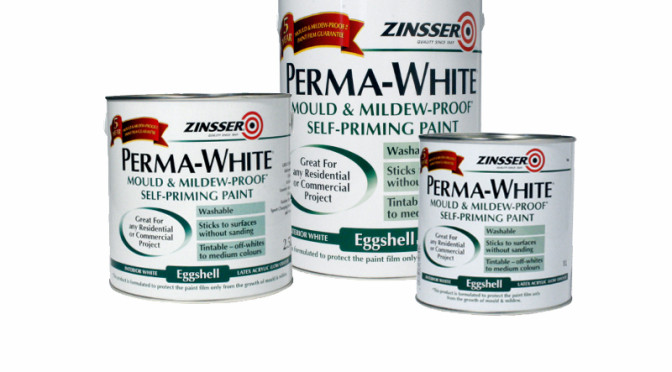 Zinsser Perma White Anti Mould Paint Interior Eggshell