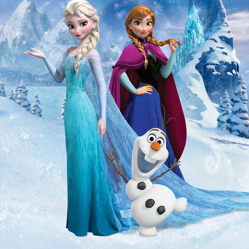 Disney Frozen Elsa Classic Doll With Olaf Figure 12 H
