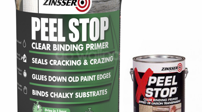 Zinsser Peel Stop – Solution for Peeling, Cracked or Flaky Paint