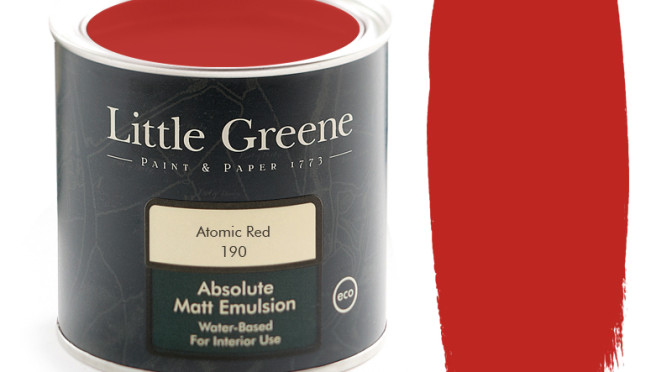 Little Greene Intelligent Matt Emulsion Atomic Red