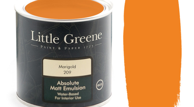 Little Greene Intelligent Matt Emulsion in Marigold