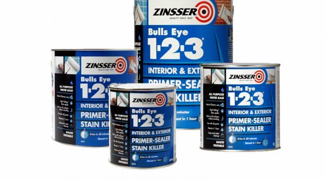 Zinsser BullsEye 1-2-3 Primer Sealer