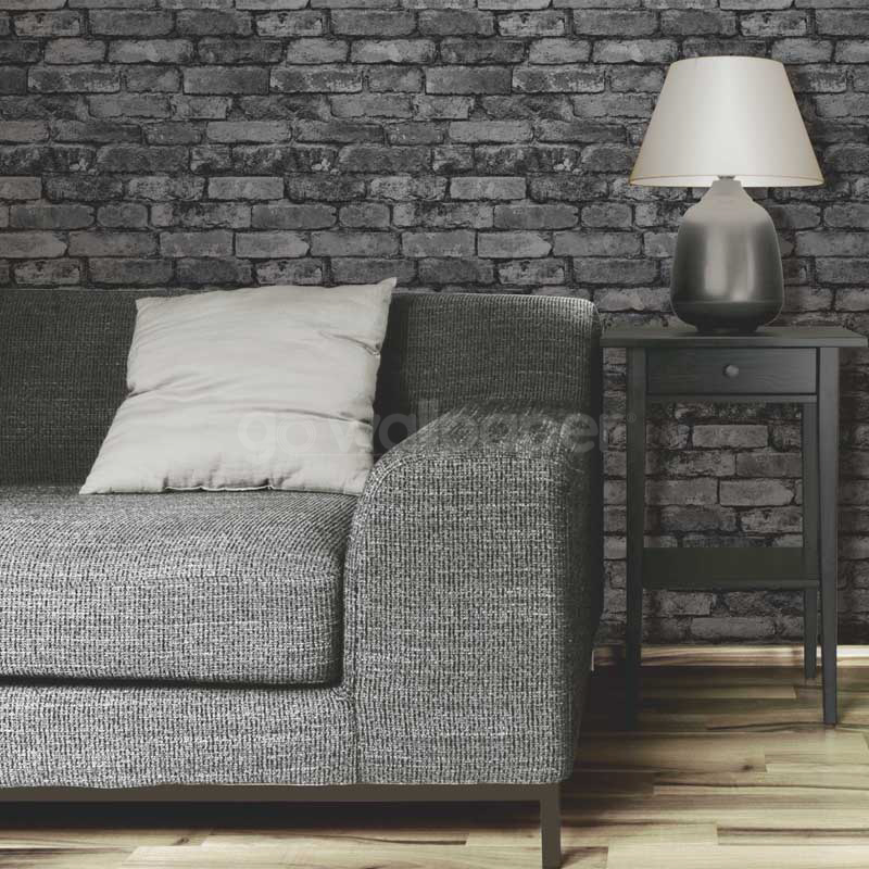 Rustic Brick Wall Decor : Fine decor rustic brick wallpaper