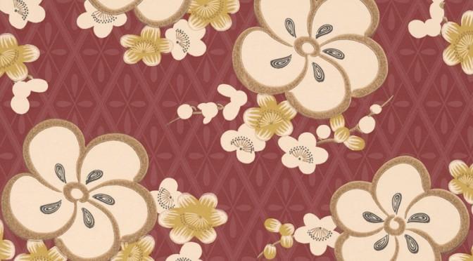 Little Greene Oriental Wallpaper – Blossom