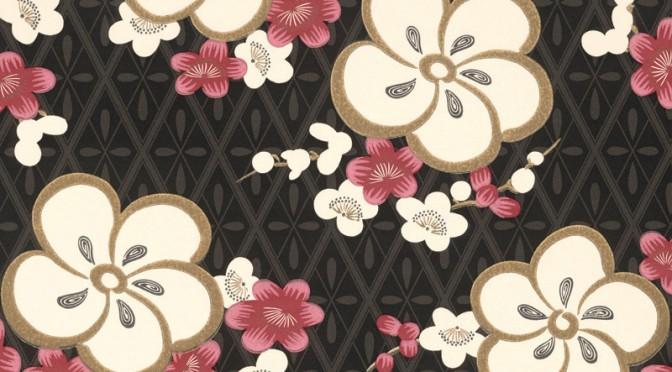 Little Greene Oriental Wallpaper – Blossom in Pink Blossom