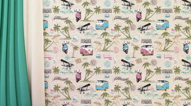 Muriva Miami Beach Wallpaper