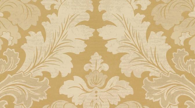 Little Greene Bonaparte Wallpaper – Pure Gold
