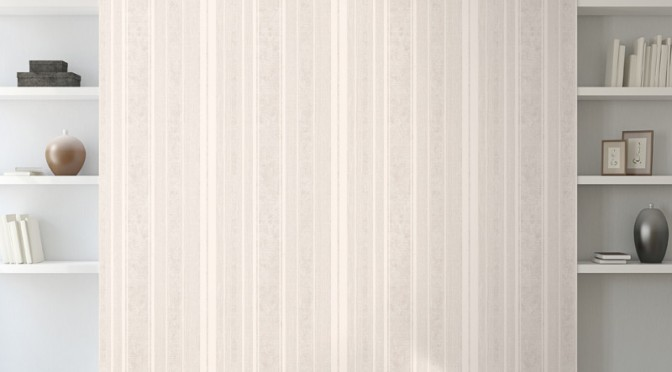 Muriva Alessandra Stripe Wallpaper – Cream
