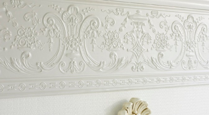 Lincrusta Empire Frieze