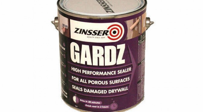 Zinsser Gardz High Performance Sealer – 5 Litre