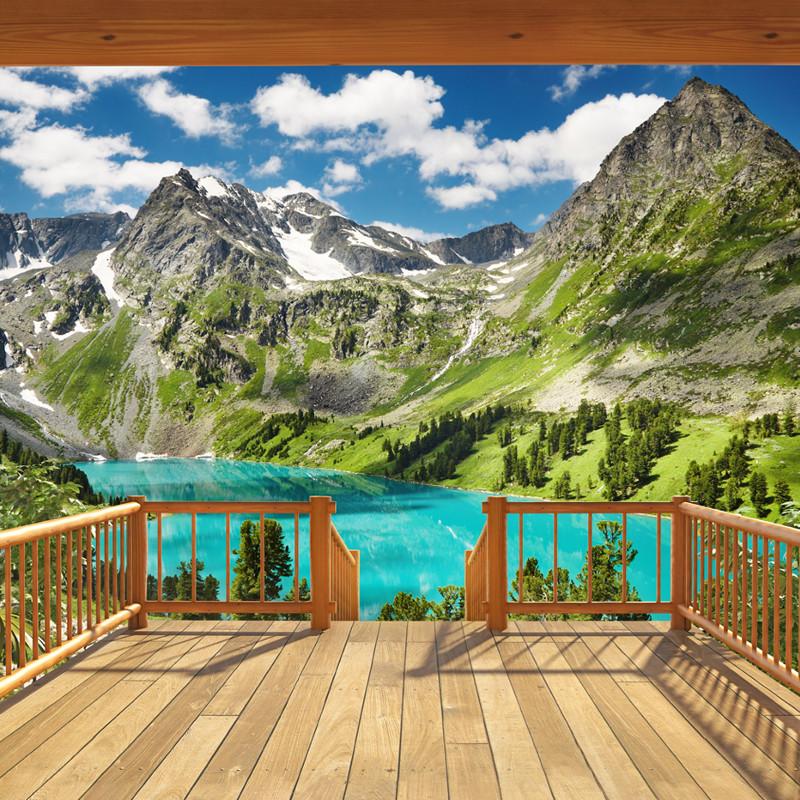 Walltastic Alpine Mountain Wallpaper Mural : Walltastic Alpine Mountain Wallpaper Mural from godecorating.co.uk size 800 x 800 jpeg 308kB