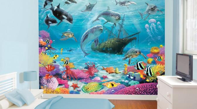 Walltastic Sea Adventure Wallpaper Mural