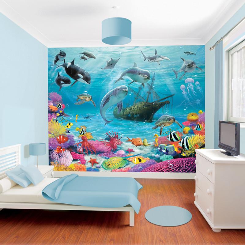 walltastic sea adventure wallpaper mural. Black Bedroom Furniture Sets. Home Design Ideas