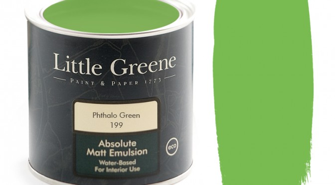Little Greene Intelligent Matt Emulsion – Phthalo Green