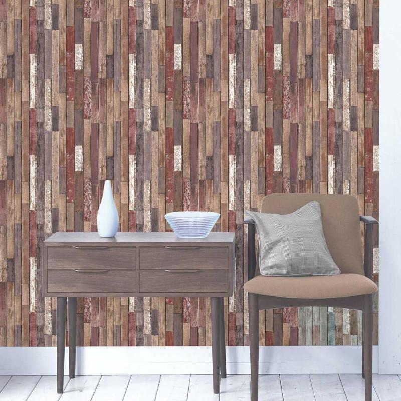 Fine Decor Parquet Wood Reclaim Wallpaper