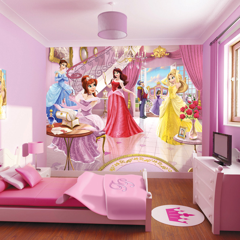 Walltastic fairy princess wallpaper mural for Fairy princess mural