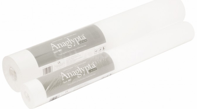 Anaglypta 1200 Grade Lining Paper Ideal Painting