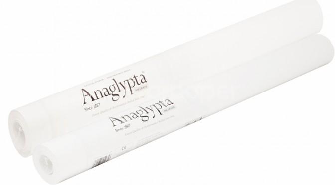 Anaglypta 800 Grade Lining Paper
