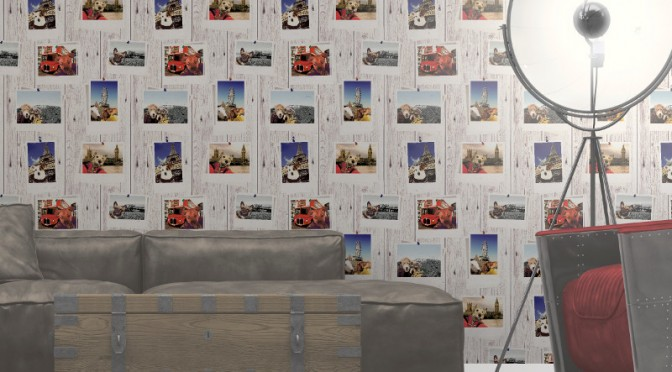 Muriva Selfie Dogs Wallpaper – Multi-coloured