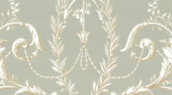 Little Greene Versailles Wallpaper – Monument