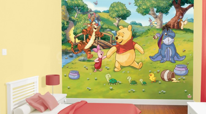 Walltastic Disney Winnie the Pooh Wallpaper Mural