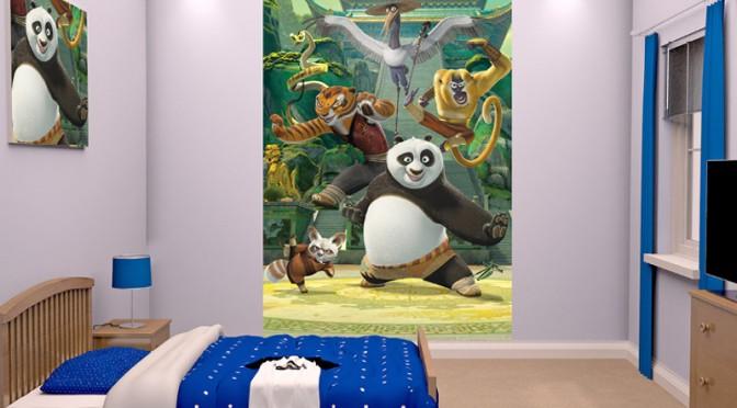 Walltastic Kung Fu Panda Poster Mural