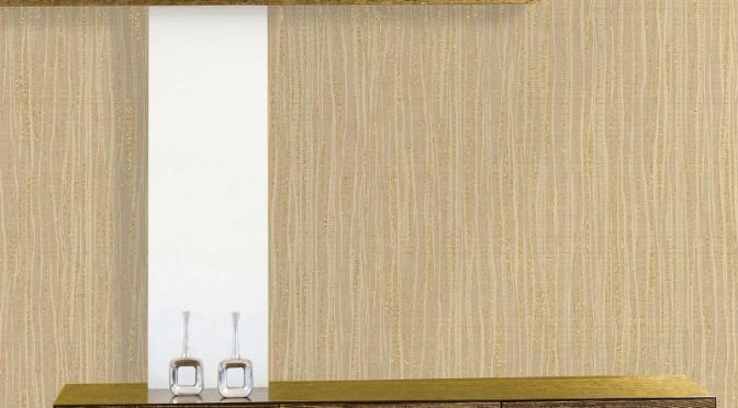 Crown Harewood Plain Texture Glitter Wallpaper – Gold