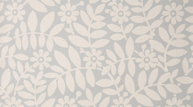 Little Greene Craven Street Wallpaper – Greystone