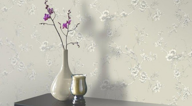 Arthouse Chinoise Wallpaper in Taupe
