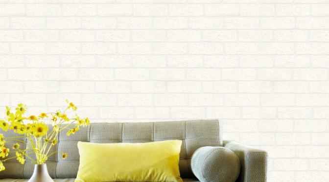 Belgravia Richmond Brick Textured Vinyl Wallpaper