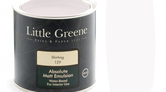 Little Greene Intelligent Matt Emulsion – Shirting 129