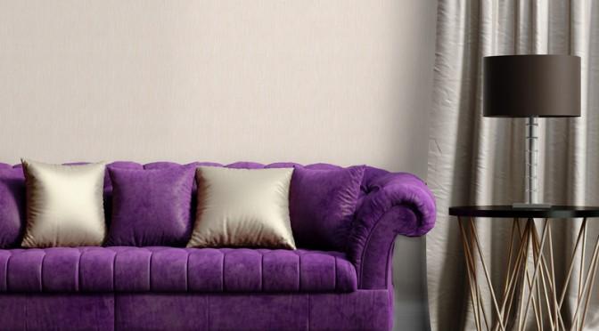 Muriva Serafina Plain Texture Glitter Wallpaper