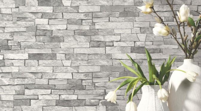 P&S International Slate Wallpaper – Light Grey