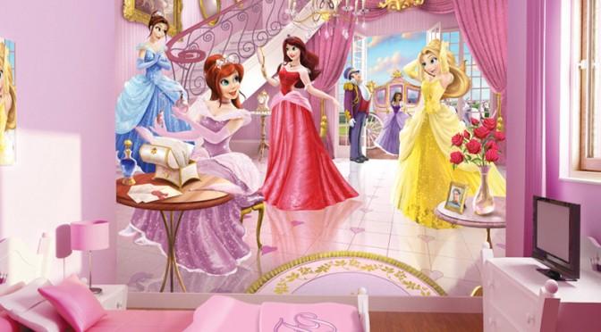 Walltastic Fairy Princess Wallpaper Mural