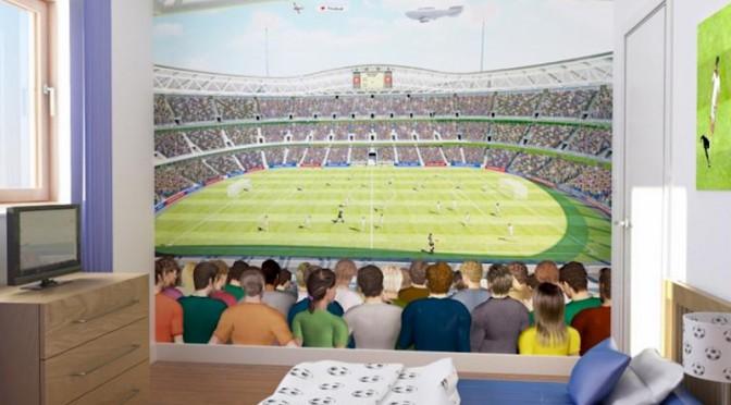 Walltastic Football Crazy Wallpaper Mural