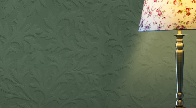 High Leaf Anaglypta Luxury Textured Vinyl