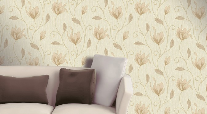 Vymura Synergy Glitter Wallpaper Soft Gold