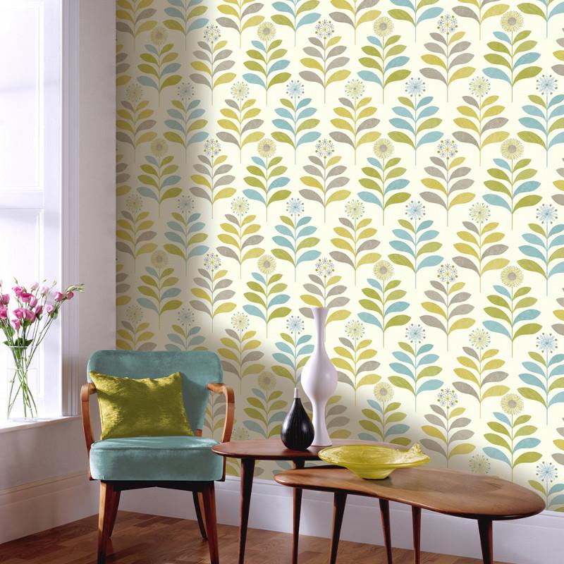 Arthouse Tamara Leaf Wallpaper