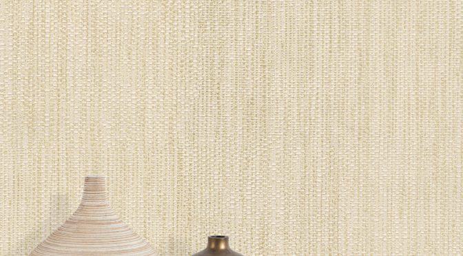 Belgravia Decor Dahlia Texture Wallpaper – Champagne