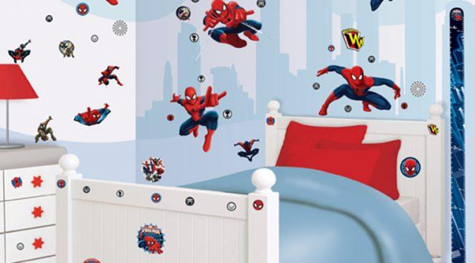 Walltastic Ultimate Spiderman Room Decor Kit