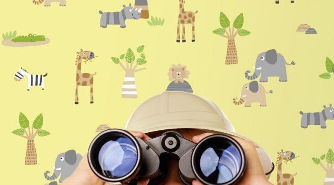 Fun Designs with Debona Zoo Wallpaper