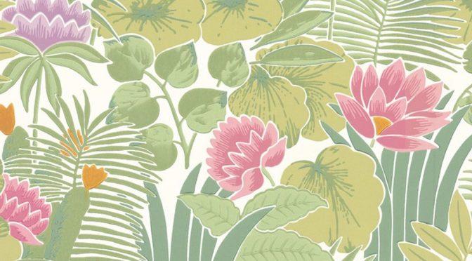 Little Greene Reverie Wallpaper in Jardin – Meditate in Style