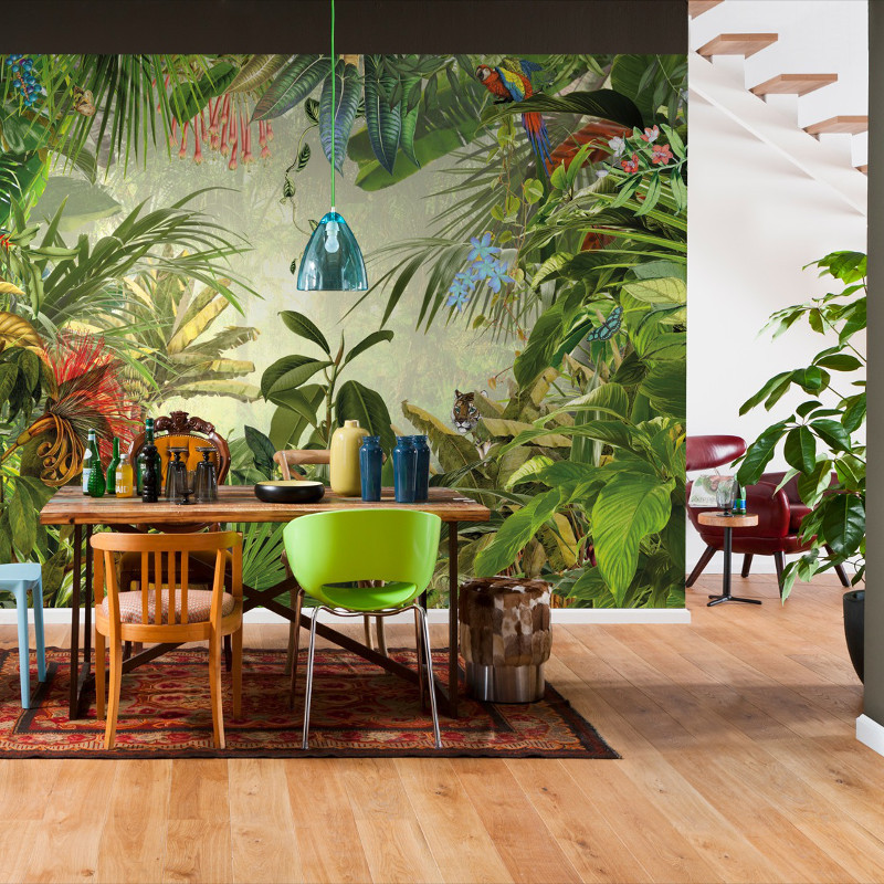 Komar Into The Wild Wall Mural Vibrant Designs At Home