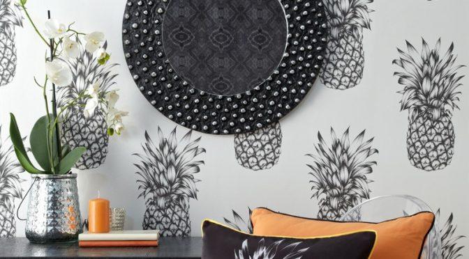 Arthouse Copacabana Black White Wallpaper