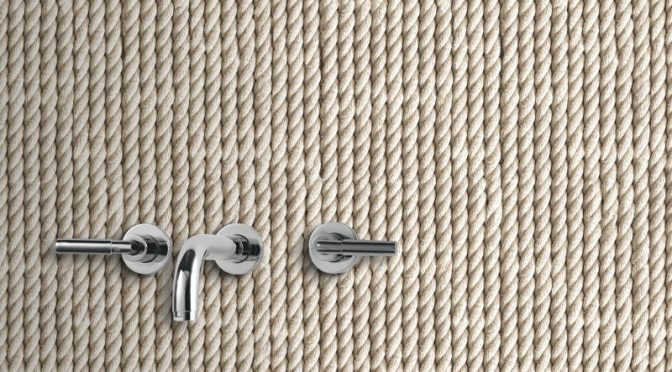 Knotted Rope Natural Wallpaper from Direct Wallpapers