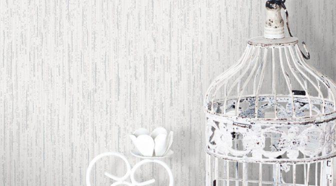 Crown Alberto Sheena Glitter Wallpaper in Snow White