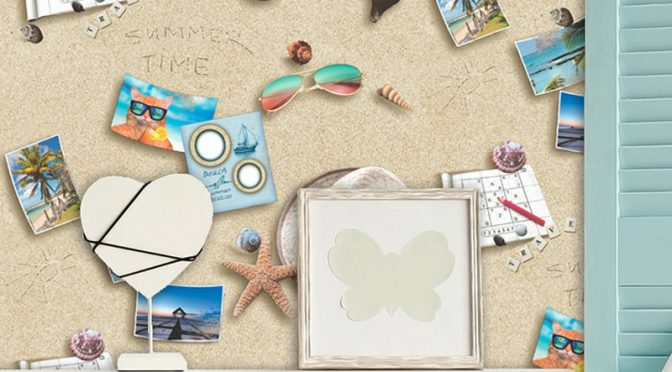 Muriva By the Seaside Multi Wallpaper
